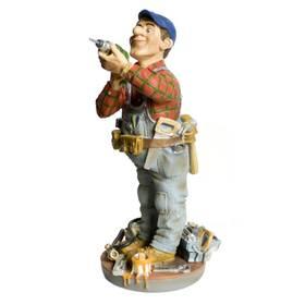 Handwerker Techniker Hausmeister Berufsfigur Profisti – Bild 1