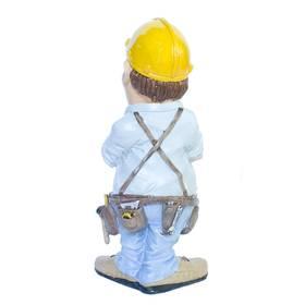 Bauarbeiter Maurer Zimmermann Bau Berufe Figur Funny Life – Bild 2