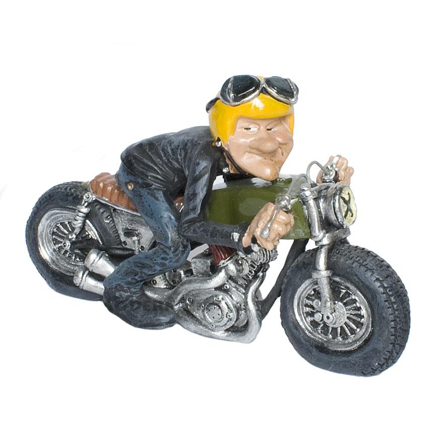 motorradfahrer biker figur funny life comic. Black Bedroom Furniture Sets. Home Design Ideas