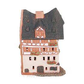Räucherhaus Dürerhaus aus Keramik Handarbeit – Bild 1