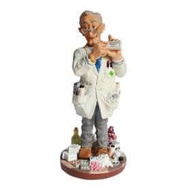 Figur Apotheker Chemist witzige Berufsfigur von Profisti