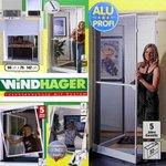 Windhager Insektenschutz Tür Fenster Fliegengitter Mückenschutz Zarge Alu