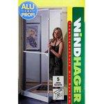 Windhager Mückenschutz Insektenschutz Tür Fliegengitter 120x240cm AluProfi 03725 001