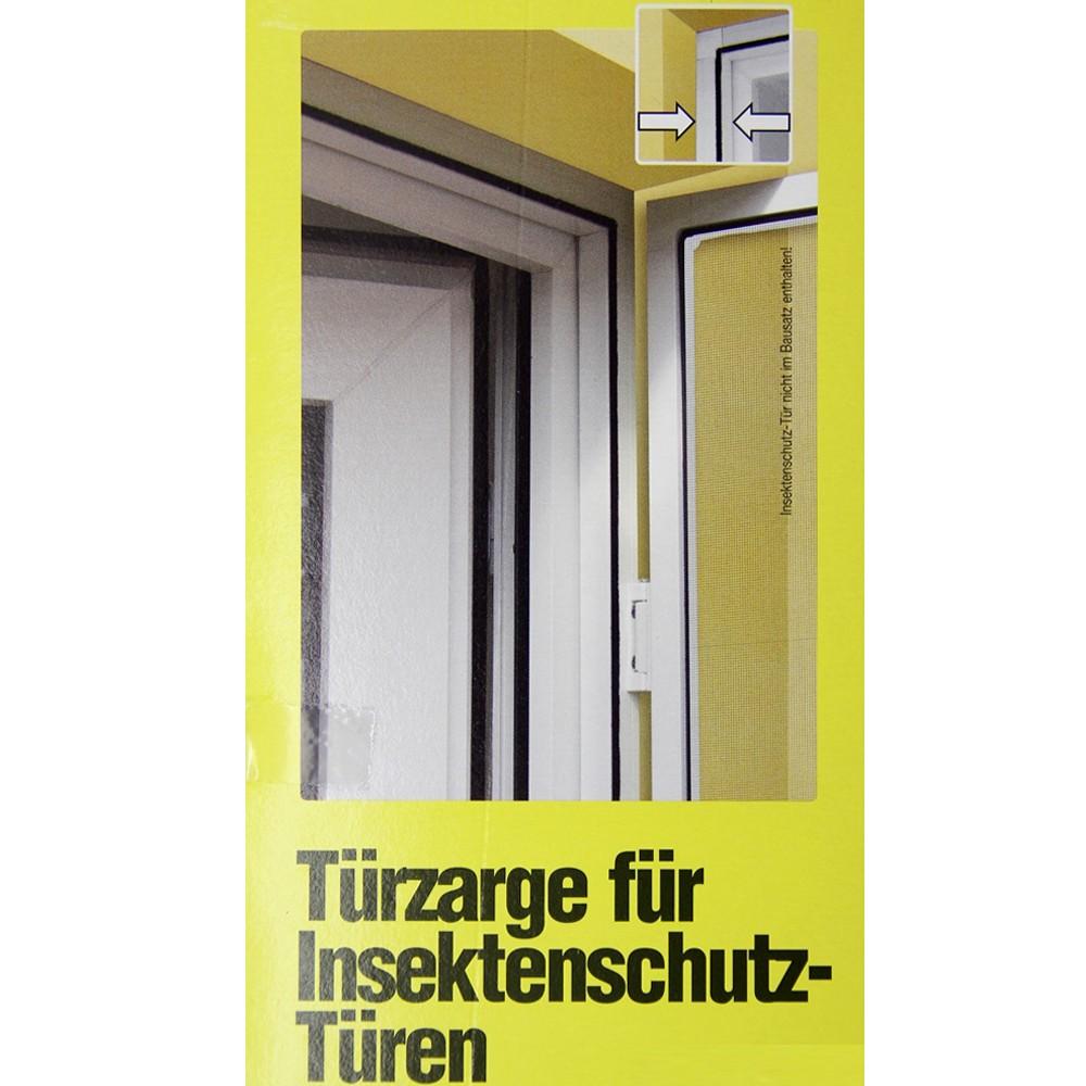 windhager alu rahmen f r insektenschutz t r fliegengitter 125x245cm braun 03887 haushalt. Black Bedroom Furniture Sets. Home Design Ideas