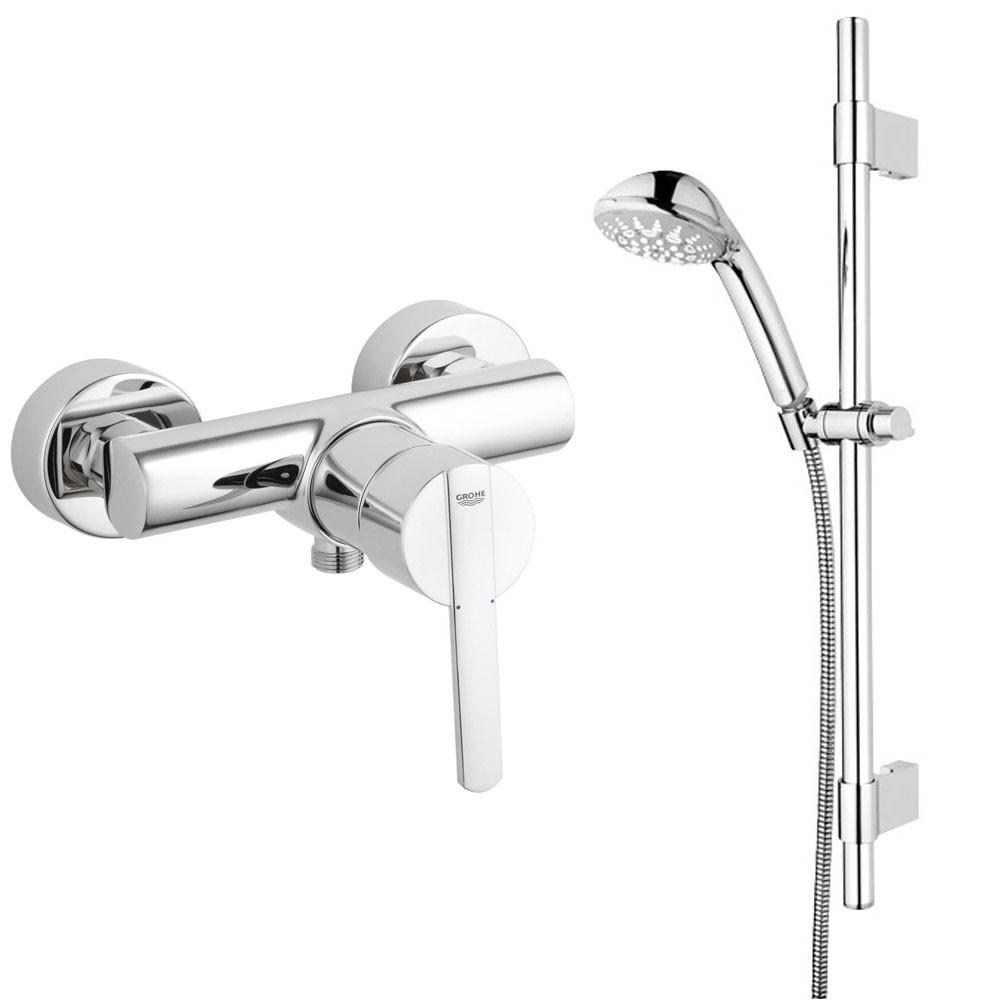 Grohe armaturen dusche  Grohe Bad Armaturen Sets Armatur Thermostat Brause für Dusche o ...