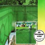 Sichtschutz Windschutz Zaun Tennis Blende Schattiernetz HDPE Gewebe Windhager Bild 3