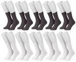 Tobeni 10 Paar Herrensocken Business Socken 100 Baumwolle Spitze handgekettelt Bild 9