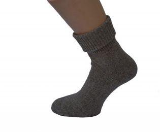 Tobeni 2 Paar Damen Socken Wolle mit Seide und Umschlag vorgewaschen – Bild 1