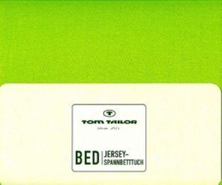 Tom Tailor Jersey - Spannbettlaken 100% gekämmte Baumwolle 100 x 200 cm – Bild 8