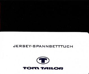 Tom Tailor Jersey - Spannbettlaken 100% gekämmte Baumwolle 100 x 200 cm – Bild 7