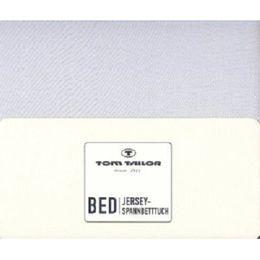 Tom Tailor Jersey - Spannbettlaken 100% gekämmte Baumwolle 100 x 200 cm – Bild 3