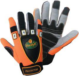 1 Paar FerdyF Mechanics Handschuhe Protector mit Spandex Rücken – Bild 1