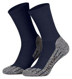 Tobeni 2 Paar Coolmax Wandersocken Sportsocken Trekkingsocken Outdoor-Socken lang für Damen und Herren – Bild 3
