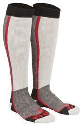 Tobeni 2 Paar Skisocken Snowboard Socken Thermolite Skistrümpfe für Damen und Herren – Bild 2