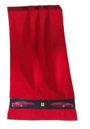 Ferrari Duschtuch F430 Rosso Line Rot-Schwarz 67 x 140 cm