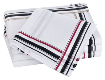 Tobeni 12 Stück Herren Stoff Taschentücher aus 100% Baumwolle-Satin – Bild 22
