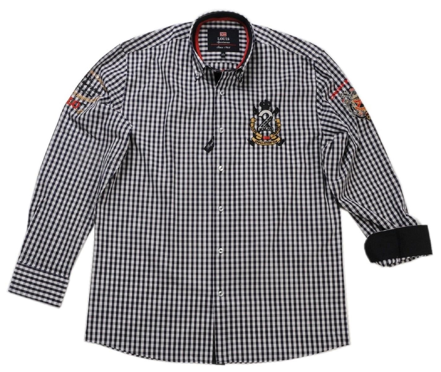 finest selection 9a8ea 4bc59 Tobeni Herren Marken Hemd mit Langarm Casual-Style in ...