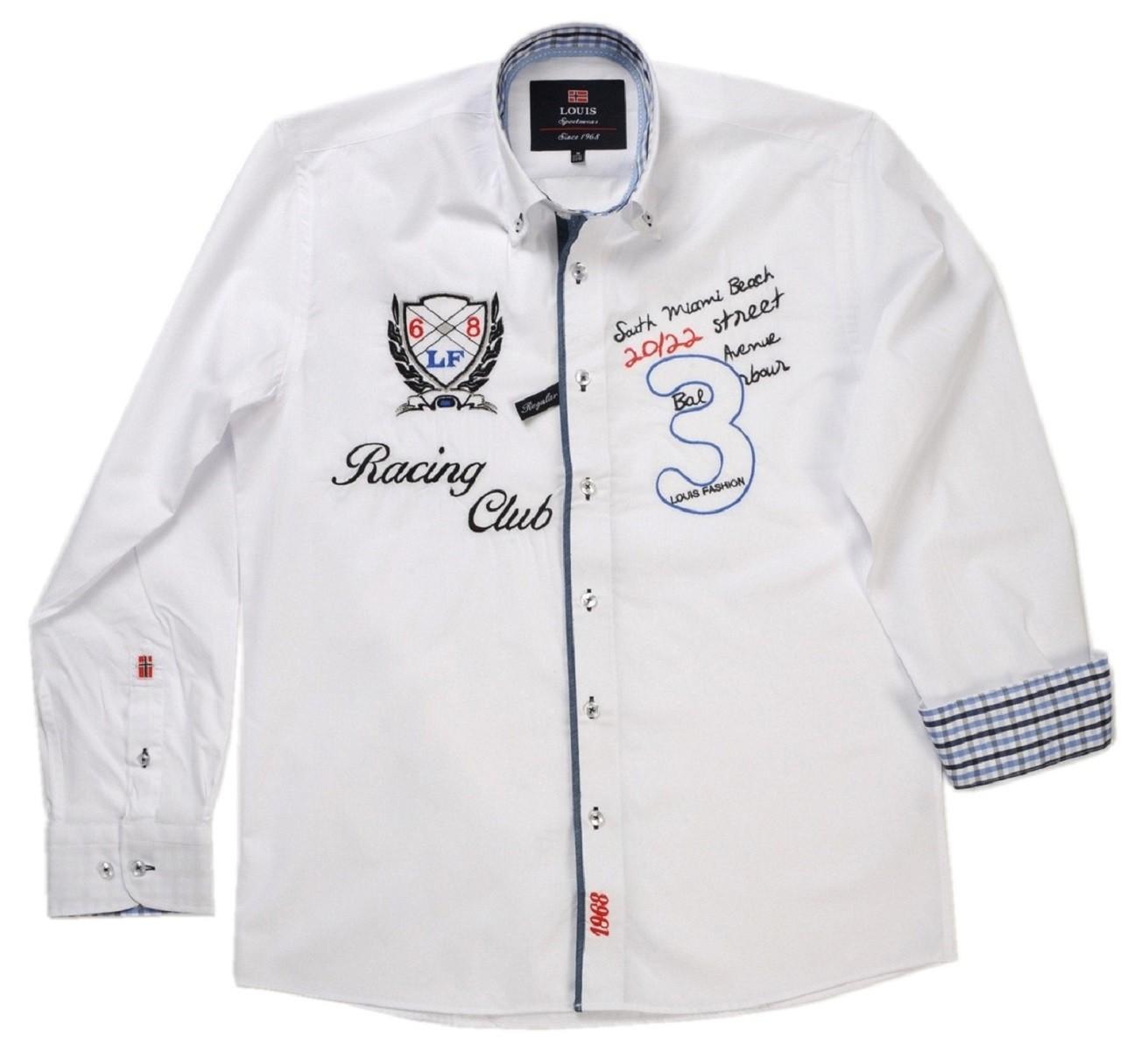 new arrivals 52947 4c6a8 Tobeni Herren Marken Hemd mit Langarm Casual-Style in verschiedenen Farben