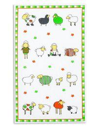 Triolino Geschirrtücher 4-er Pack mit schönen Motiven in 100 Baumwolle 45 x 70 cm – Bild 1