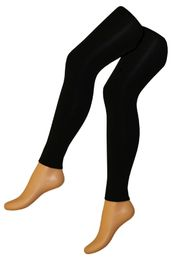1 x Damen Thermo Leggings Leggins flauschig warm mit Innenflanell