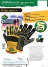 1 Paar FerdyF. Mechanics Handschuhe Extrication-S Gelb-Schwarz Bild 2