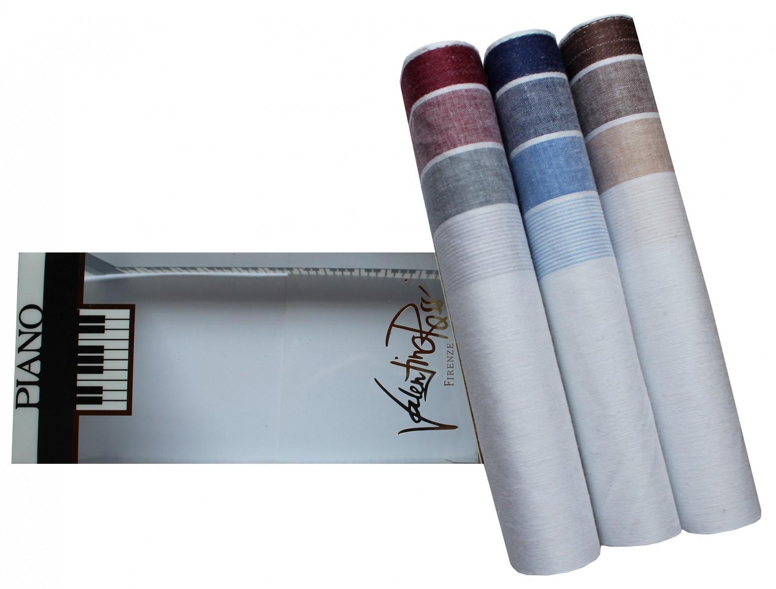Tobeni 3 edle herren stoff taschent cher in geschenke box for Edle accessoires