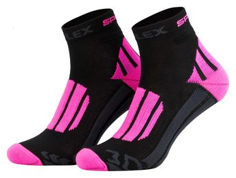 Tobeni 1 Paar Damen Funktionssocken Running Socken Kurz 3D-Reflex – Bild 1