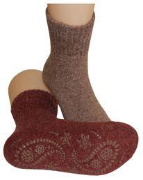 Tobeni 2 Paar feine Damen ABS Stopper Socken in modischen Farben – Bild 2