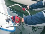 1 Paar FerdyF. Mechanics Handschuhe Power Rot-Schwarz Bild 3