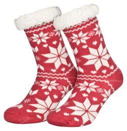 Tobeni 1 Paar Damen Homeshoe ABS Socken Kuschelsocken mit Anti-Rutsch Noppen Sohle – Bild 9