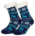 Tobeni 1 Paar Damen Homeshoe ABS Socken Kuschelsocken mit Anti-Rutsch Noppen Sohle