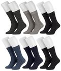 Tobeni 6 Paar Herrensocken Diabetiker Socken Baumwolle ganz ohne Gummi Bild 3