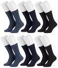 Tobeni 6 Paar Herrensocken Diabetiker Socken Baumwolle ganz ohne Gummi Bild 10