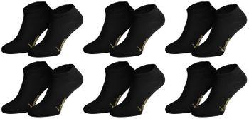 Tobeni 6 Paar Sneaker Socken Bambussocken Füsslinge für Damen und Herren – Bild 4
