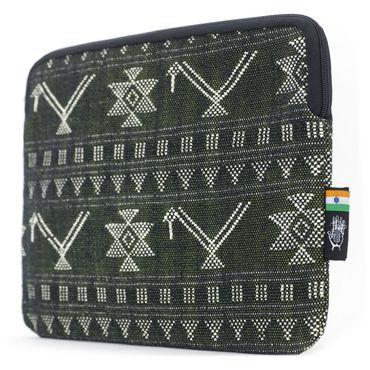 Ethnotek Kumba Laptop Sleeve 13 Zoll  Farbe: India 19 – Bild 1