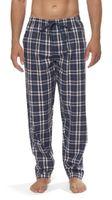 Moonline - Herren Webhose Freizeithose Loungewear aus 100% Baumwolle