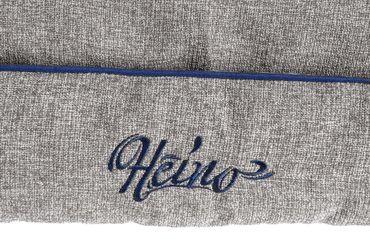 Bett Enzian By Heino L: 60 cm B: 50 cm H: 14 cm grau-beige  – Bild 2