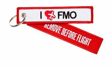 I Love FMO Schlüsselanhänger – Bild 1