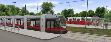 OMSI: Vienna - The High Floor Bus LU 200 (Add-on) – Bild 13