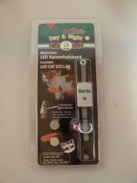 Blinkendes LED Katzenhalsband