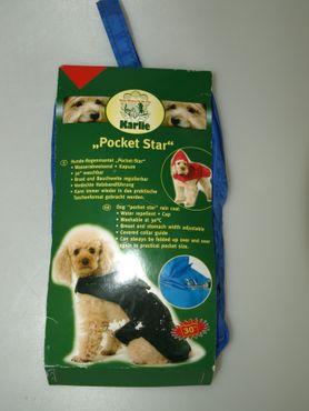 Hunde-Regenmantel Pocket-Star 27cm