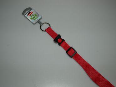 Halsband Abano Gr. M/L 32-47cm ROT