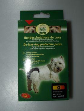 Hundeschutzhose de Luxe, Größe 0