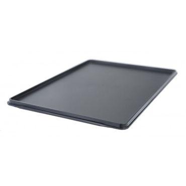 Flugzeugtrolley Tablett, schwarz – Bild 1