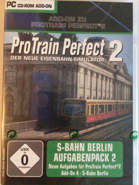 Pro Train Perfect 2 - Aufgabenpack 2 S - Bahn