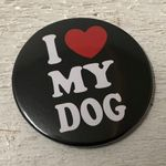 """I LOVE MY DOG - New York Style"" Magnet-Flaschenöffner 001"