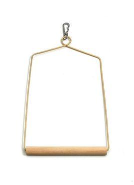 Schaukel Holz L: 16 cm B: 24 cm