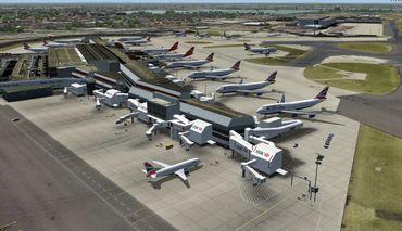 Mega Airport London-Heathrow (FSX+FS2004) – Bild 5