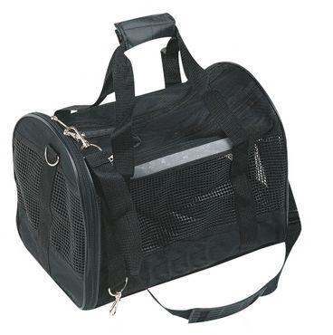 Tiertransporttasche Schwarz, Tiertragetasche für Hunde & Katzen, Hundetasche, Katzentasche