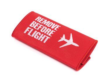 REMOVE BEFORE FLIGHT Koffer Griff Band – Gepäckband Markierer Klettband – Bild 1